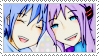 Kaito and Gakupo - Stamp by aries95a