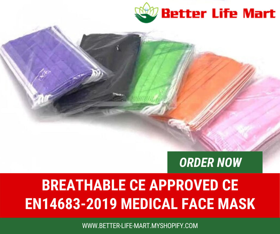 CE Approved Medical Face Masks - Better Life Mart by ...