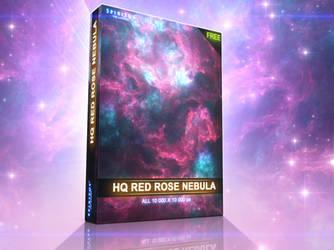 FREE HQ RED ROSE NEBULA - PACK 47 by ERA7
