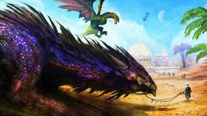 +Amethyst Dragon+