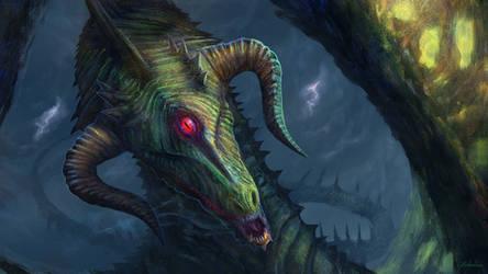 Duma Dragon - Free Patreon Request