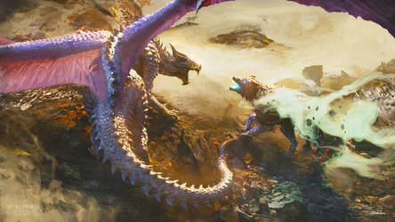 +Battle with Storm Dragon+