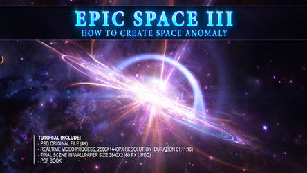 How to create SPACE ANOMALY - Tutorial