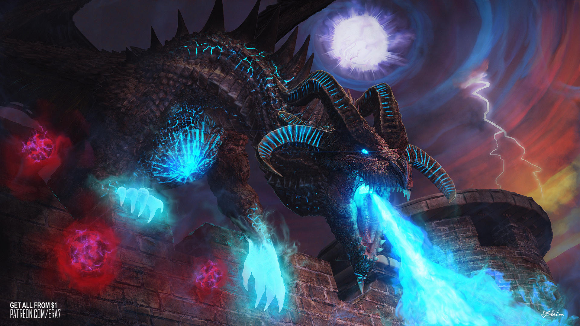 Fatalis Dragon