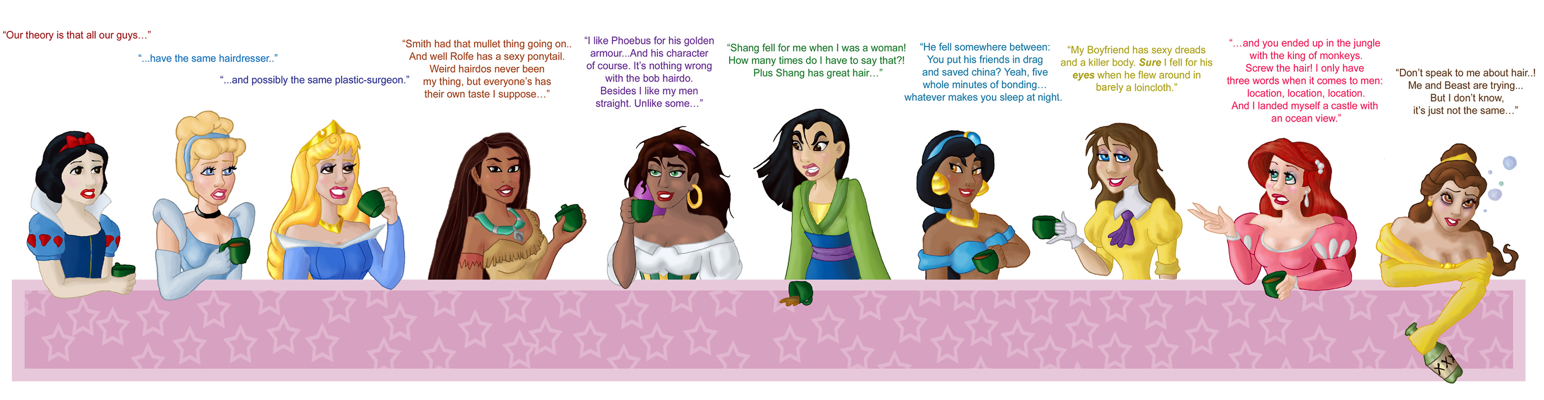 Disney Women by Morloth88