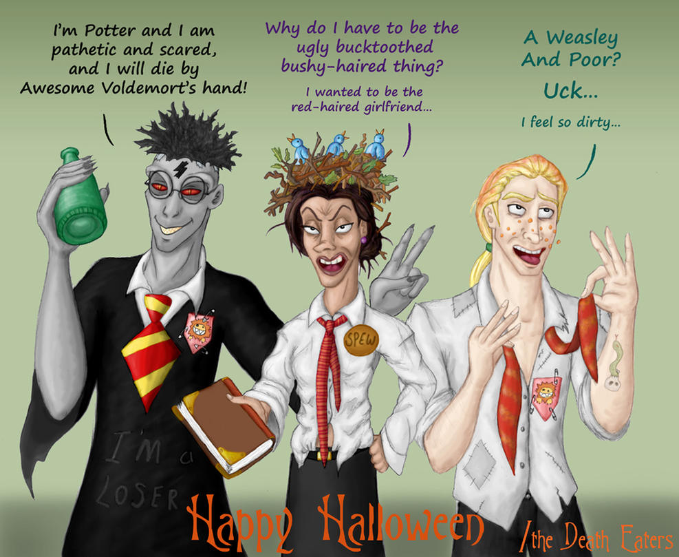 Death Eater Halloween by Morloth88