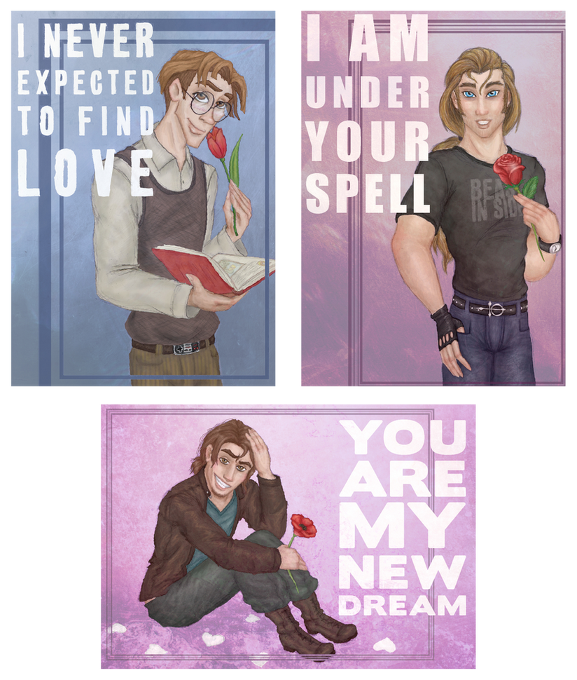 Valentine cards by Morloth88
