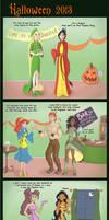 Halloween 2013 Sidekicks