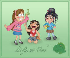 Let's play with Dinos by Morloth88
