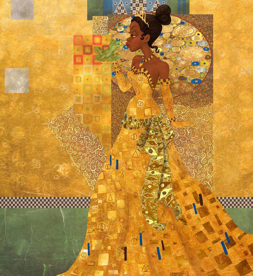 Princess Tiana Art: Tiana In Gold By Morloth88 On DeviantArt