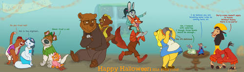 Halloween 2018 Be A Man by Morloth88