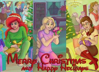 Christmas gift exchange by Morloth88