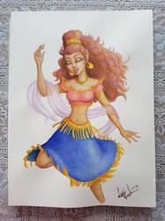 Watercolour Leetha