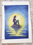 Ariel by moonlight