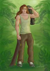 Tarzan a modern boy