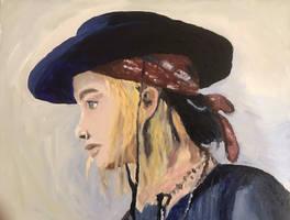 JLaw cowboyhat by pepp82