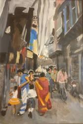 Indian Street WIP by pepp82