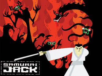 Samurai Jack Background by Shegon