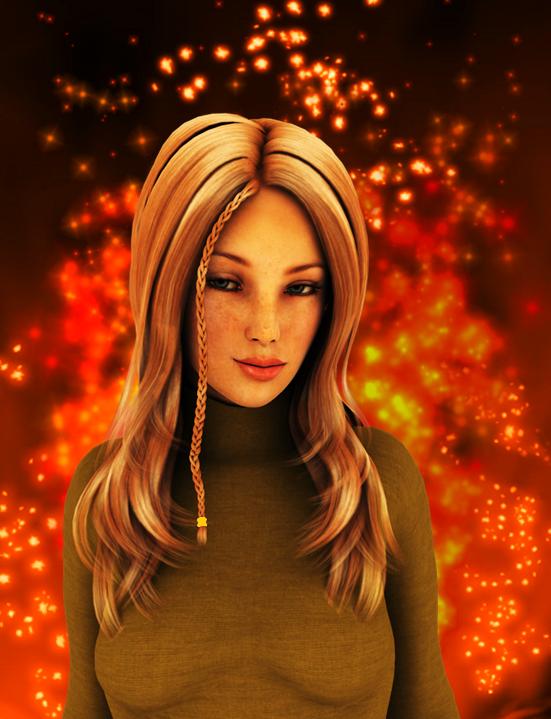 Melisandre Flamesong by Arlesienne