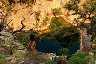 Nature's Tear by Arlesienne
