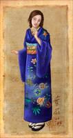Moonblossom in Kimono