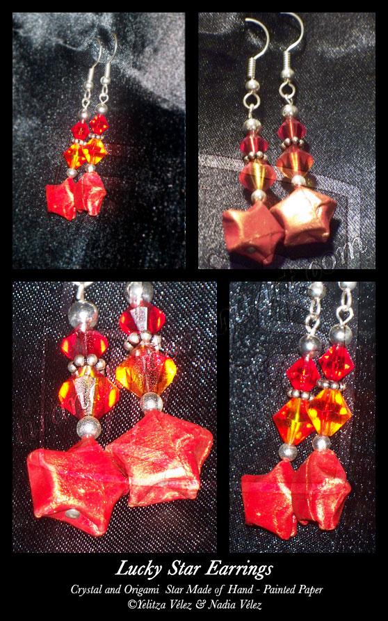 Lucky Star Earrings by tiranaki