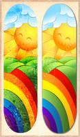 Sunshine and Rainbows Deck
