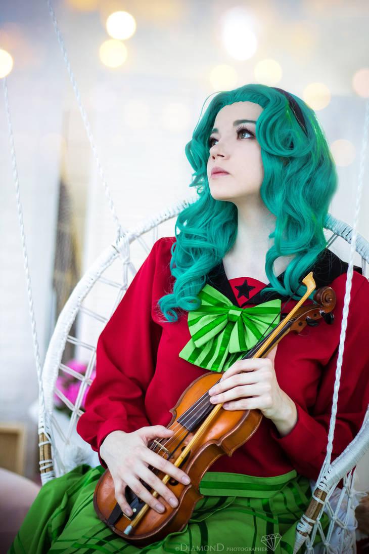 Sailor Moon S: violin by RaniNyan