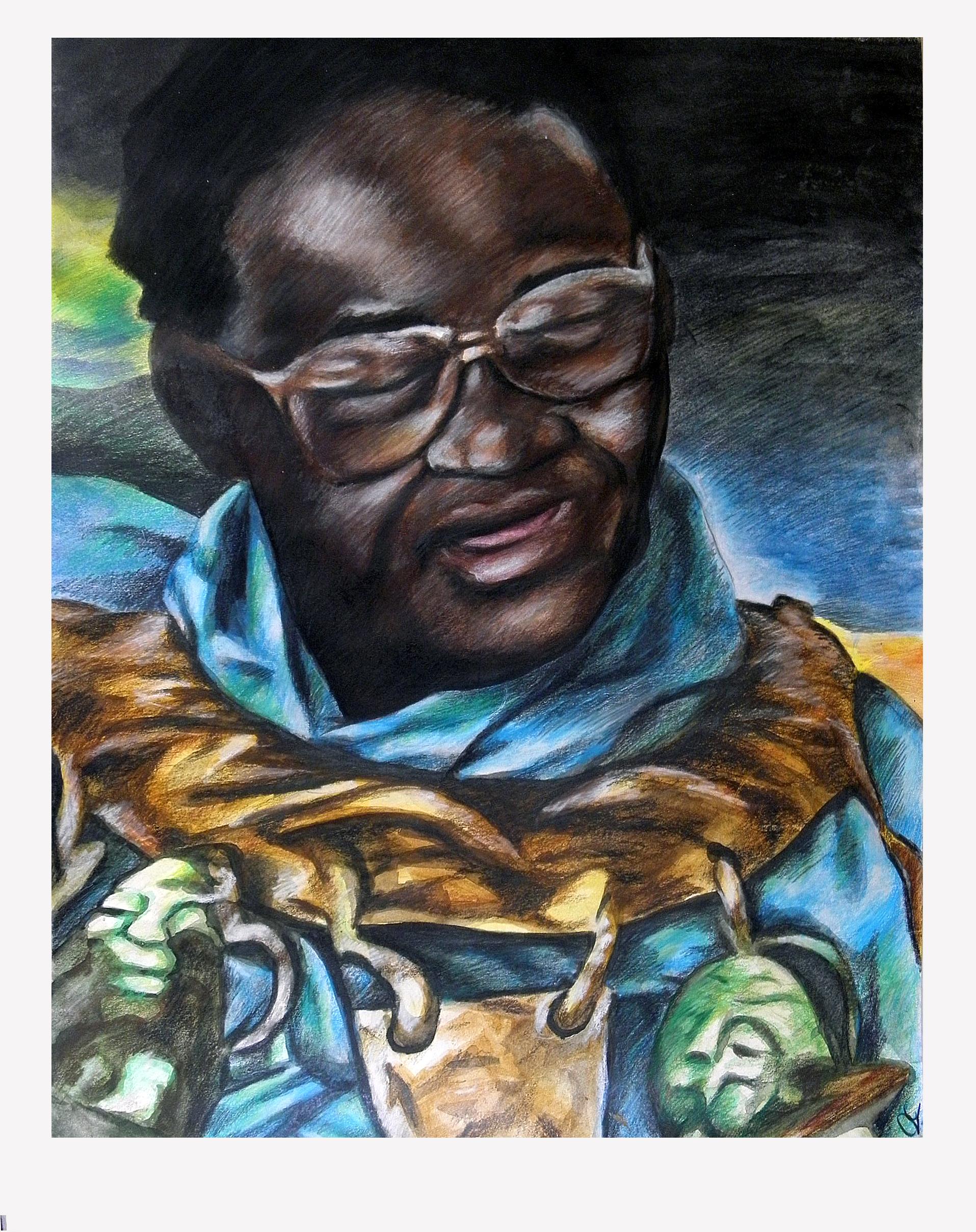 Vusamazulu Credo Mutwa Vusamazulu Credo Mutwa by Phabellis on DeviantArt