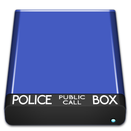 Tardis Drive Icon V1 0 By Jensen Nicole On Deviantart