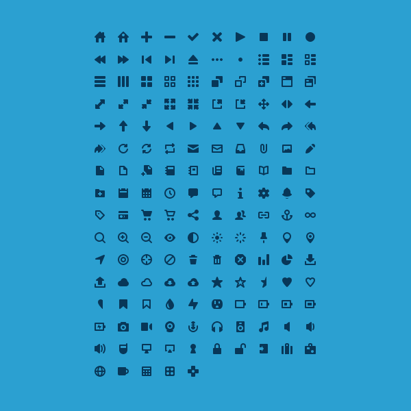 Pictype Vector Icons by tmthymllr