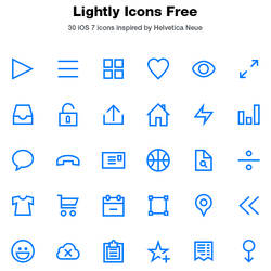 Lightly Icons Free