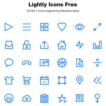 Lightly Icons Free by tmthymllr