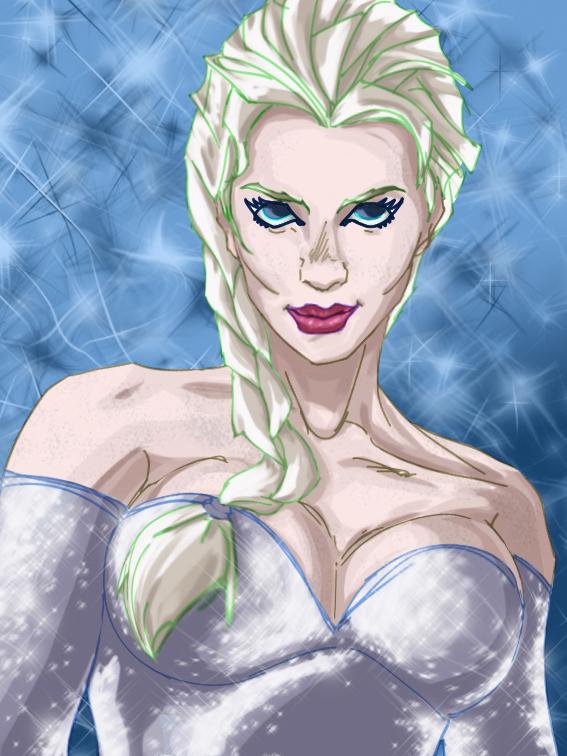 Elsa by Debarsy