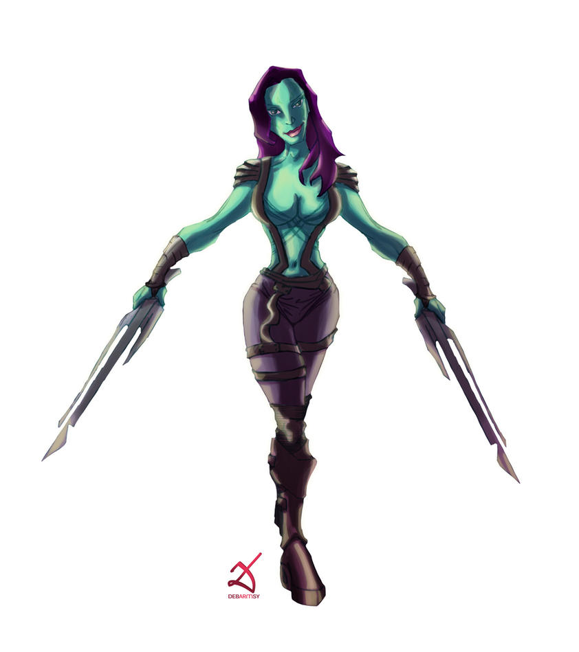 Gamora by Debarsy