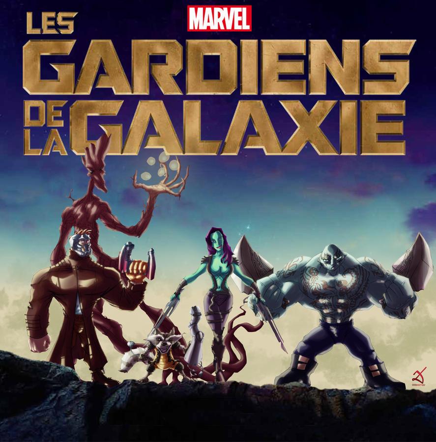 Les Gardiens De La Galaxy by Debarsy