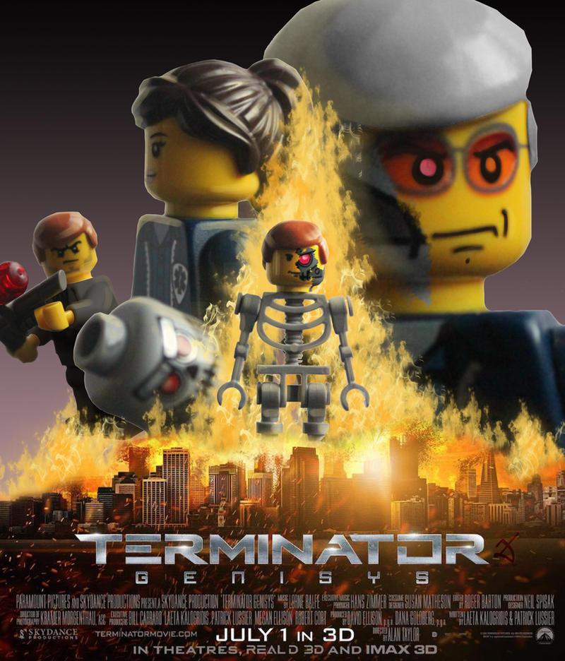 Terminator Genisys by Debarsy