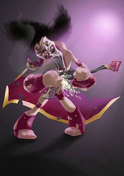 heavy metal rocker