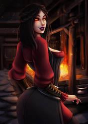 Serana by LumiNyu