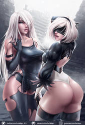 2B and A2 by LumiNyu