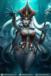 Queen Azshara (alt version) by LumiNyu