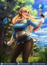Zelda by LumiNyu