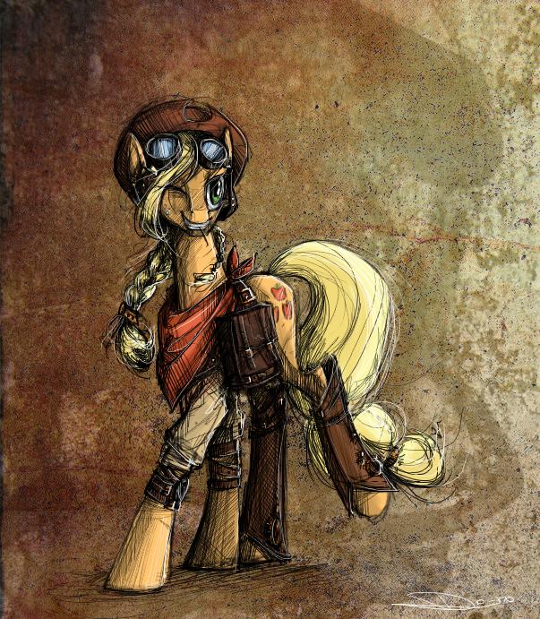 Steampunk AJ by NastyLady