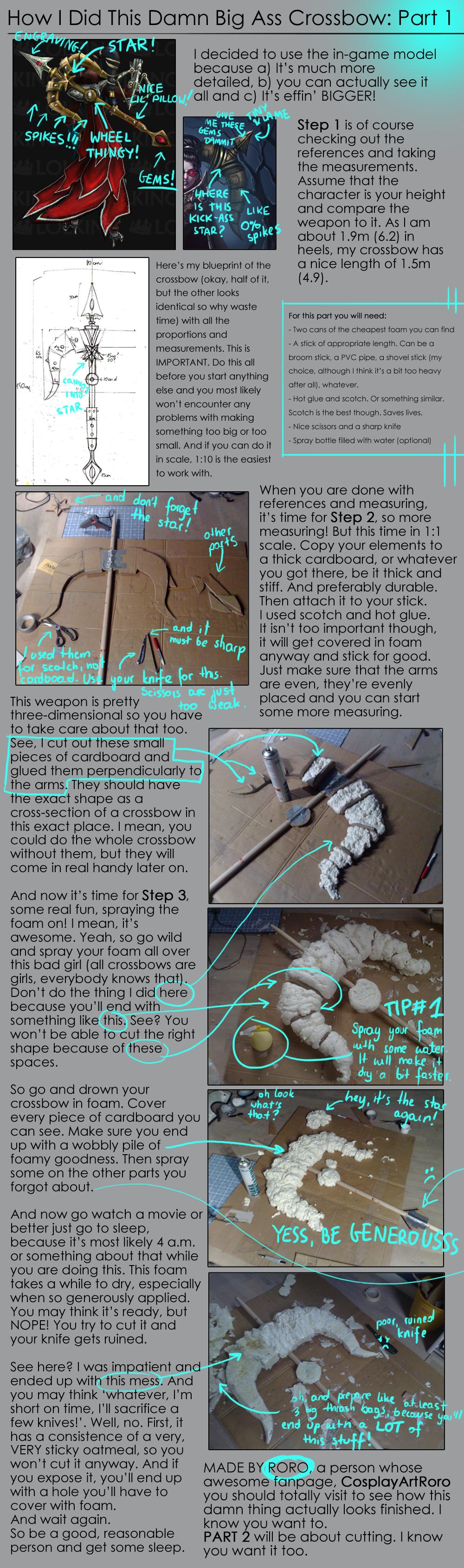 Vayne Crossbow Tutorial - PART 1