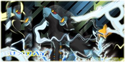 Luxray - Pokemon by VulcemTheLoneWolf