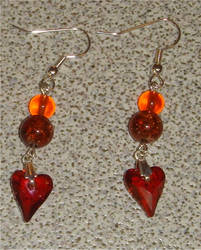 Magma Love Earrings