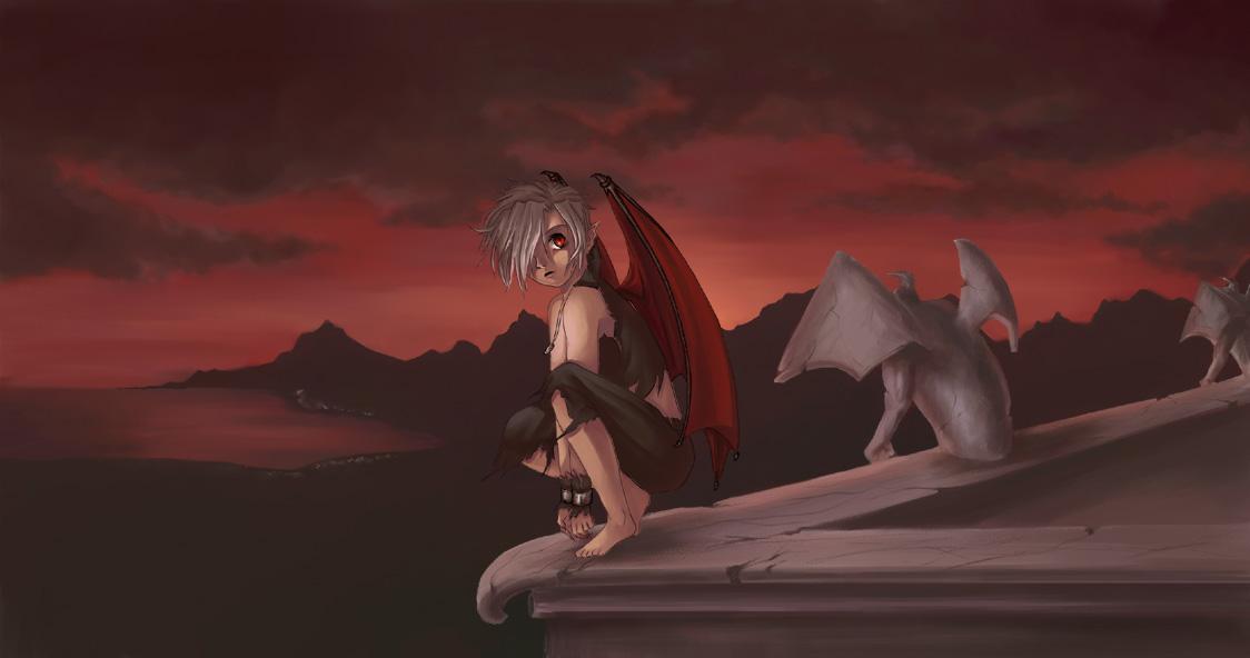 Demon Boy by ereya