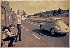 En Route Pour La Joie by jazzylemonade