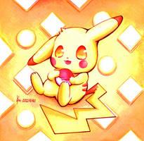 Pikachu by 12L4e172s3s