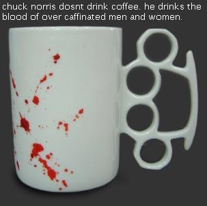 chuck norris mug by 1234penis1234
